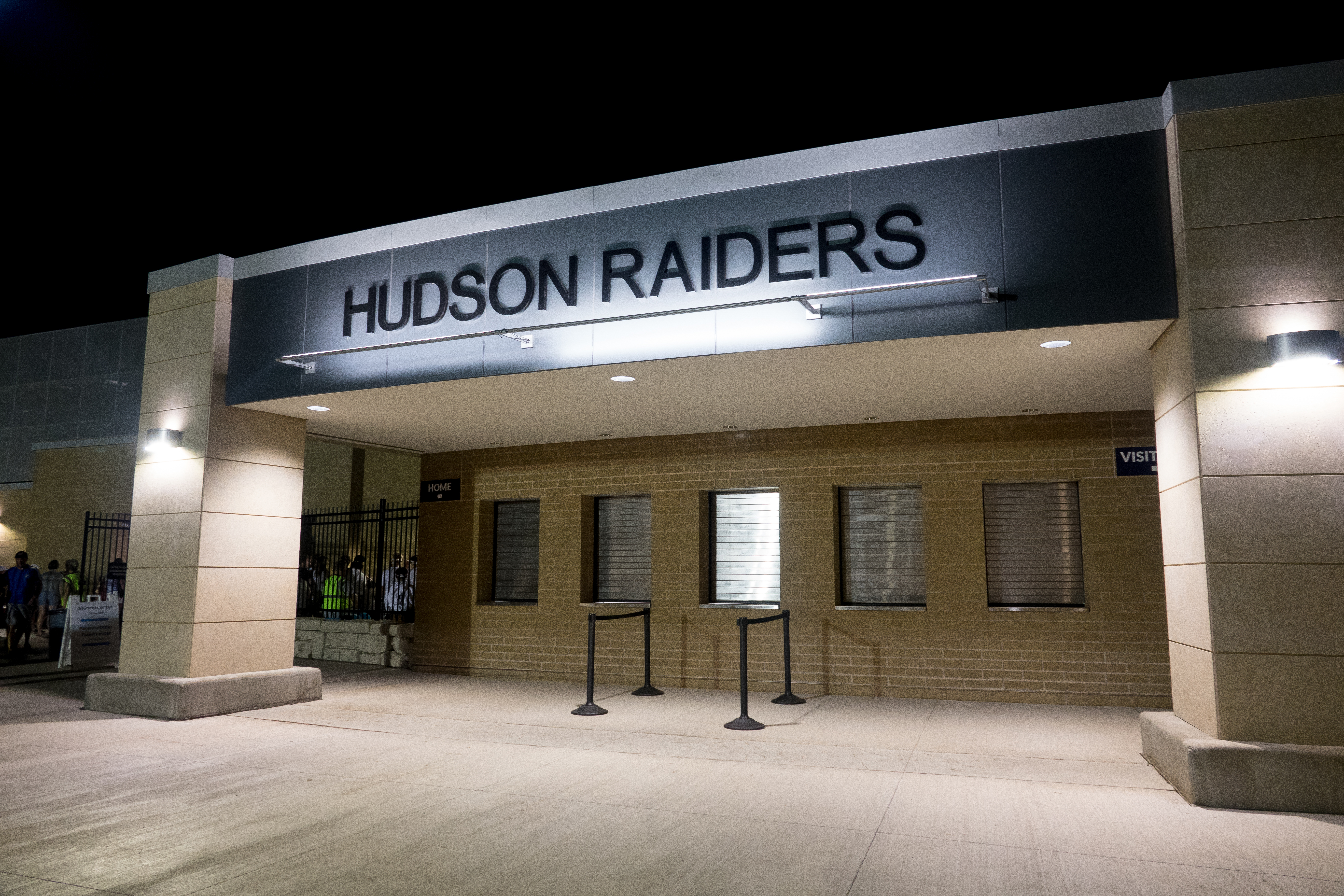 Hudson Raiders Stadium Entrance